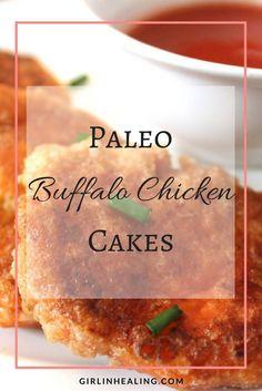 Paleo Buffalo Chicken Cakes Recipes