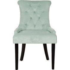 Safavieh MCR4712 Set of 2 Bowie Roll Back Arm Chair