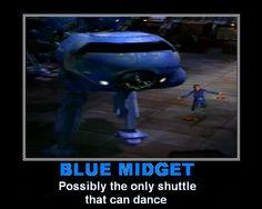 Red Dwarf - Blue Midget by DoctorWhoOne.deviantart.com on @deviantART