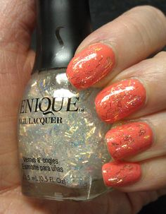 OPI - Hot and Spicy + Venique - Top Thong