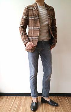 Ripped Jeans Men, Sport Coats, Winter Wear, Smart Casual, Jacket Style, Tweed, Winter Fashion, Blazers, Fashion Dresses