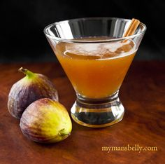 Recipe: Fig and Bourbon Cocktail    Ingredients  1 1/2 Ounces Bourbon  3/4 Ounce Cointreau  3/4 Ounce Brown Sugar Fig Simple Syrup (recipe below)  1 Teaspoon Orange Blossom Honey  4-6 Drops Dark Chocolate Bitters
