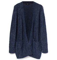Marcs Teddy knit longline cardi