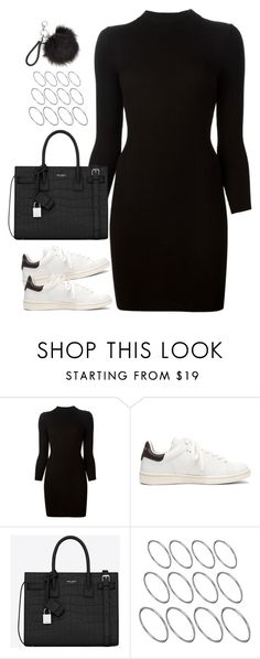 """Untitled#4500"" by fashionnfacts ❤ liked on Polyvore featuring Maison Margiela, Étoile Isabel Marant, Yves Saint Laurent and ASOS"