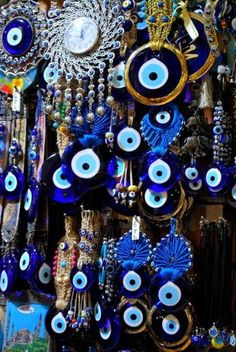 #2015 Nazar Boncugu -- Turkish evil eye protection EVERY WHERE IT'S EVERYWHEREEEE