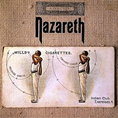 """""""Exercises"""" (1972, Warner Brothers) by Nazareth.  Their second LP."""