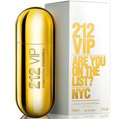 212 VIP Carolina Herrera. Descuentos y Envíos a todo México. Perfumes para mujer. Elegante y Sofisticada. Are you on the list? NYC.