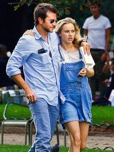Bradley Cooper's got himself a new gal pal! The hunky dude, in sleek aviators, kept his arm wrapped around girlfriend Suki Waterhouse during a stroll through Paris!