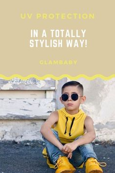 Protect your kids from the harsh UV rays of the sun in a stylish way. GlamBaby offers fashionable sunglasses for your boys and girls at an affordable price - designed and distributed out of Los Angeles, CA. Toddler Boy Fashion, Toddler Boys, Kids Fashion, Baby Sunglasses, Girl With Sunglasses, Kids Outfits, Cute Outfits, Kid Styles, Cute Babies