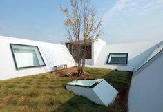 JA+U : Rooftop Living in Japan © Shinkenchiku-sha