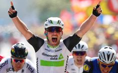 Mark Cavendish - Tour de France 2016, stage one live: Mark Cavendish wins sprint finish to take his first ever yellow jersey
