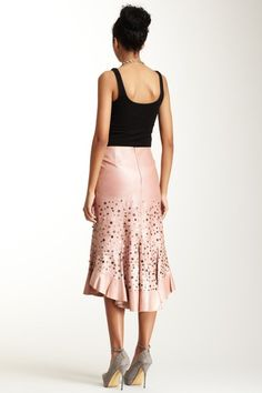 def21d3e8c3 Polli Says Antiqued Goat Leather Tango Skirt- love this. Looks like  something they