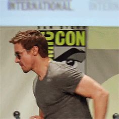 He can not walk like a normal person ever.... which is one more thing to love about him, really.