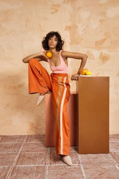 Ideally Fe Essentials is a collection of wardrobe essentials designed specifically for the Fe Noel Woman. Creative Photography, Editorial Photography, Fashion Photography, Lifestyle Photography, Photography Couples, Glamour Photography, Photography Ideas, Orange Fashion, Colorful Fashion
