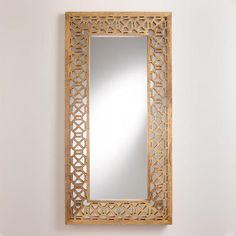 Absolutely LOVE this new mirror from @worldmarket - a definite contender for our bedroom makeover!