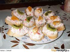 Krabí pomazánka česneková