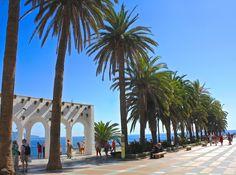 Balcon de Europa, Nerja Nerja, Places To Visit, Sidewalk, Balconies, Europe, Travel, Sidewalks, Pavement, Walkways