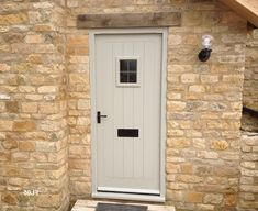 52 Marvelous Traditional Front Door Design Ideas - October 12 2019 at Cottage Front Doors, Grey Front Doors, Cottage Windows, Cottage Door, Cottage Exterior, Front Door Colors, House Doors, Window Frame Colours, Country Front Door