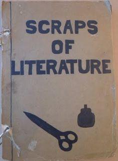 Poetry & Popular Culture: Scraps of Literature: Poetry & Popular Culture's Back to School Edition