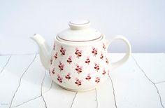 Vintage 'Springtime' Sadler England Teapot by Littlemix on Etsy