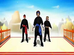 Just Dance Kids - Kung Fu Fighting (Wii Rip) for Brain Breaks brain-breaks-movement-activities