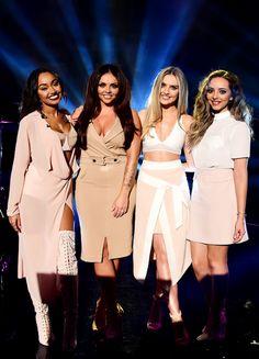 Little Mix filming The Graham Norton Show, 11/16