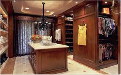 :: Italian Style - Master Closet #2 ::   - Wendi Young Design -