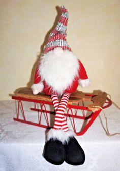 "29""  SCANDINAVIAN TOMTE~NORDIC NISSE~SOCKERBIT SVEN~SANTA~CHRISTMAS ELF GNOME"