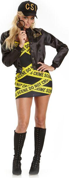 CSI Adult Plus Costume