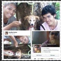 개를 목매달아 죽인 학대범들...지구촌 현상수배