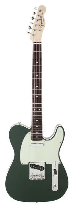 Fender Custom Shop 1963 Telecaster Custom NOS Cadillac Green