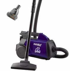 EUREKA Mighty Mite Bagged Canister Vacuum Cleaner, Pet, for sale online Canister Vacuum Reviews, Best Canister Vacuum, Eureka Vacuum, Vacuum For Hardwood Floors, Lightweight Vacuum, Vacuum Cleaners, Pet Vacuum, Hepa Filter