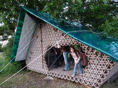 A House Made From Recycled Materials