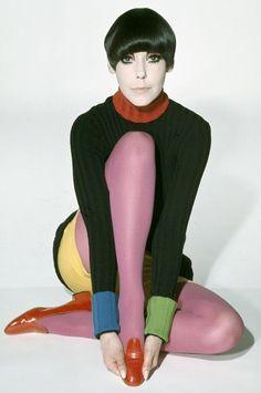 Mod Model Peggy Moffitt
