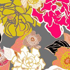 Jungle Passion fabric by joanmclemore on Spoonflower - custom fabric $18/yd.