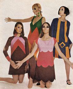 1960s mini dresses.