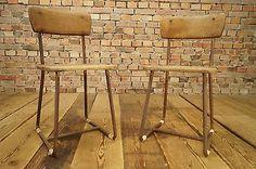 TRUE Vintage Architektenstuhl / Werkstattstuhl / Industrie Design Factory Stuhl