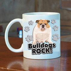 Bull Dogs Rock! 15oz Coffee Mug - Dog with Paw Prints VictoryStore http://www.amazon.com/dp/B00RZNNVPQ/ref=cm_sw_r_pi_dp_zLMWvb1F849D8