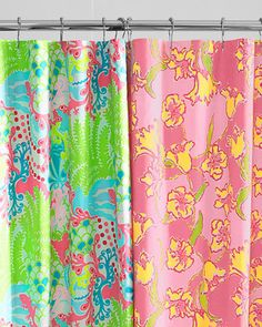 Wonderful Lilly Pulitzer® Sister Florals Shower Curtain