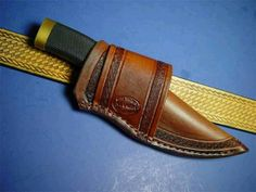 The 800 Best Knife Sheath Images On Pinterest Leather Crafts