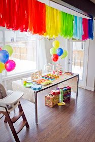 Simple First Birthday Party