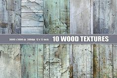 WHITE BLUE PAINTED WOOD TEXTURE by Area on @creativemarket