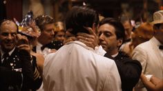 The kiss of death...Poor Fredo. (The Godfather, Part 2)