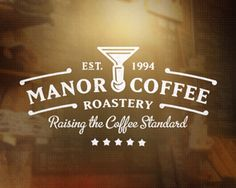 Manor Coffee Logo Design