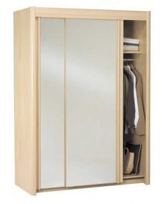 Parisot Carla sliding mirrored wardrobe