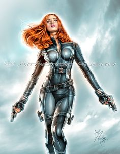 Title: Black Widow Winter Soldier. Prints available at my store. Can't post the link because Deviant Art says it's porn so just Google my name, you will find it Similar prints that you can find in ...