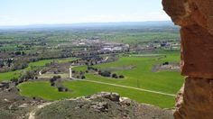 Tierz desde el Castillo de Montearagón