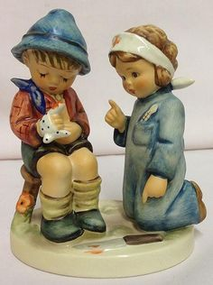 Hummel Little Nurse Figurine 1980s