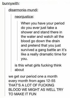 Periods on Tumblr