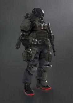Futuristic Armour, Futuristic Art, Armor Concept, Concept Art, Character Concept, Character Art, Tactical Armor, Sci Fi Armor, Future Soldier